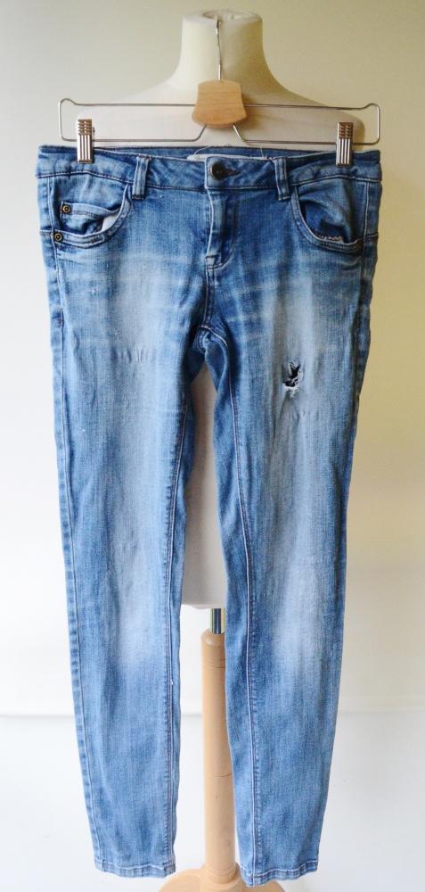 Spodnie Jeanswear Rurki Dziury M 38 Dzins Skinny