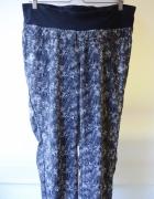 Spodnie H&M Mama XL 42 Skóra Węża Ciążowe Ciąża Dresy...
