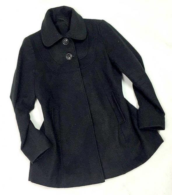 Krótki płaszczyk kurtka czarna