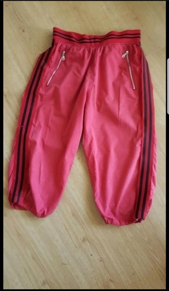 Dresowe spodnie rybaczki
