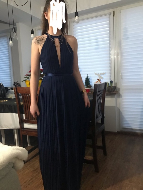 Suknie i sukienki Sukienka długa maxi TFNC 42 xl