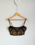 Missguided top cropped we wzory...