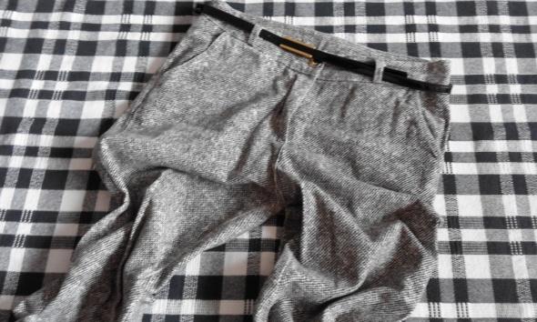 Spodnie damskie melanż 36 s