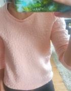 Bluza damska House pikowana brzoskwiniowa pomarańczowa XS...