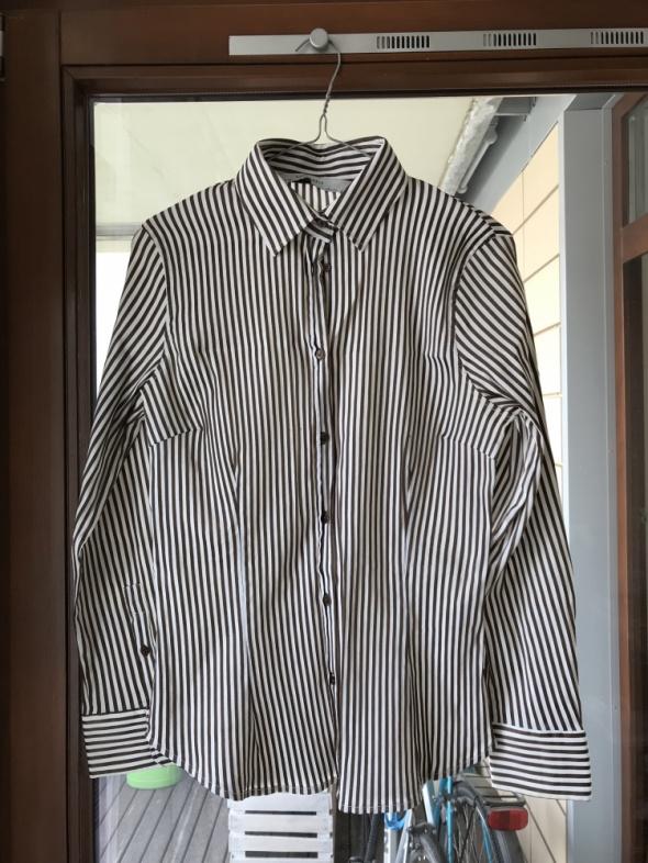koszula w paski Zara...