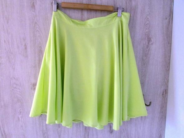 Spódnice Niepowtarzalna cytrynowa żółta spódnica rozm L