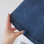 Fajna jeansowa spódnica z koła