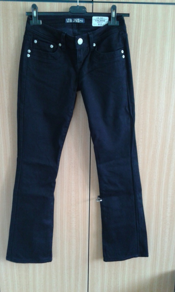 Czarne jeansy LTB 25 XS