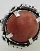 Ogromny pierścień punca CS srebro 800...