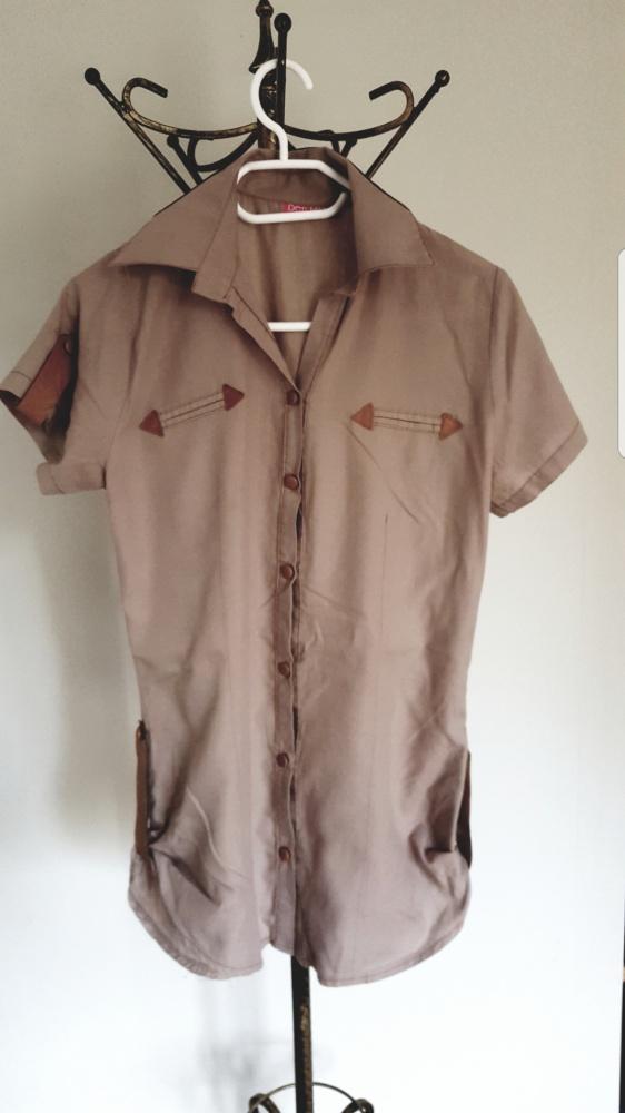 Koszule Koszula ze wstawkami