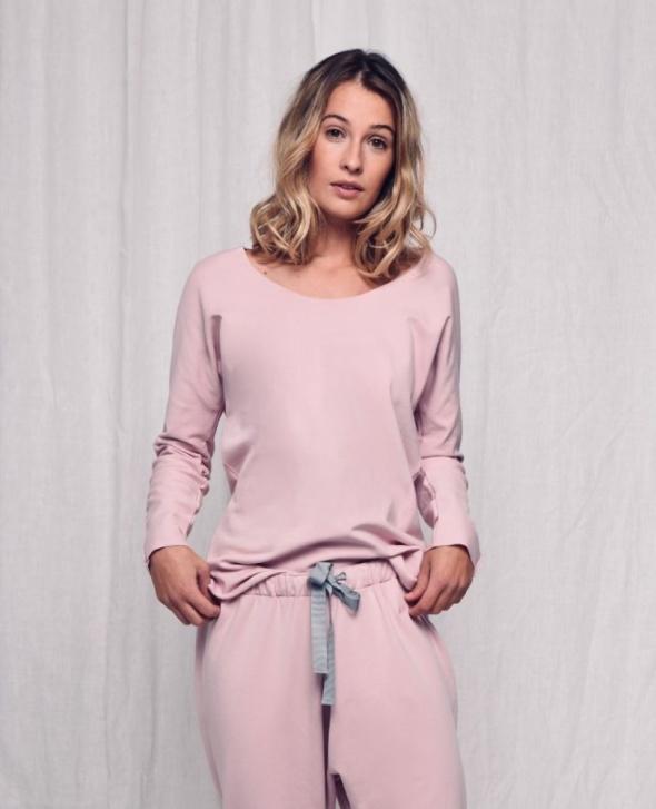 Ciepła piżama z bawełny organicznej