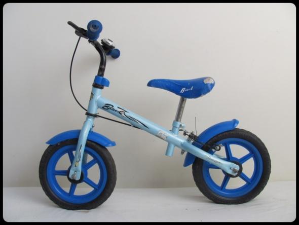Rowerek biegowy niebieski regulacja wysokości