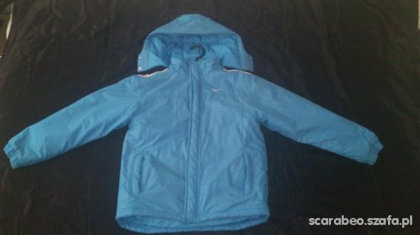 kurtka zimowa NIKE rozmiar 140 152 cm blue