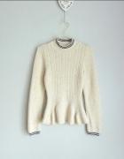 Miss Selfridge sweter z baskinką 36...