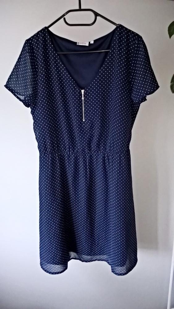 Sukienka w kropki 42 44