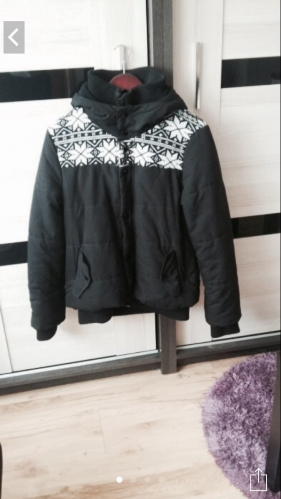 Bomberka pikowana kurtka zimowa