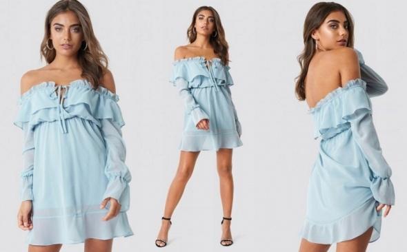 Piękna Nowa Sukienka NA KD xs