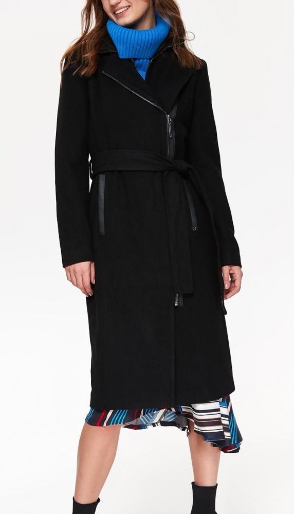 Odzież wierzchnia 42 Top Secret NOWY Modny ciepły płaszcz z wełną
