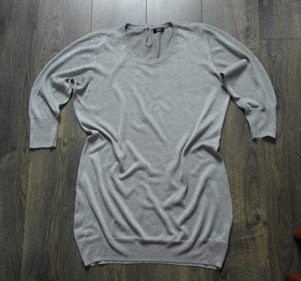 Bluzka szara srebrna 38...