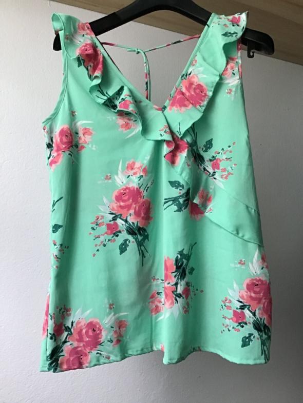 Bluzeczka falbanki kwiaty