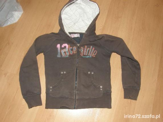 Reserved ciepła bluza dla dziewczynki 140...