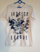Koszulka tshirt nadruk komiksowa superman M XL 38 40 biała kolo...