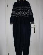 kombinezon duży szary męski granatowy piżama pidżama...