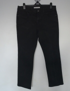 czarne jeansy George straight UK18 46...