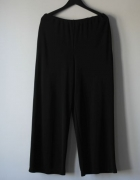 czarne elegankie spodnie na gumie r 42...