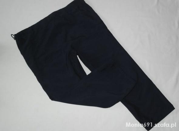 dorothy perkins granatowe spodnie r 42...