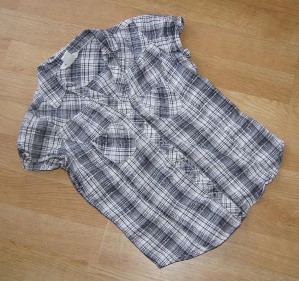 Koszulki, podkoszulki Koszula dziewczynka krata H&M rozm 140