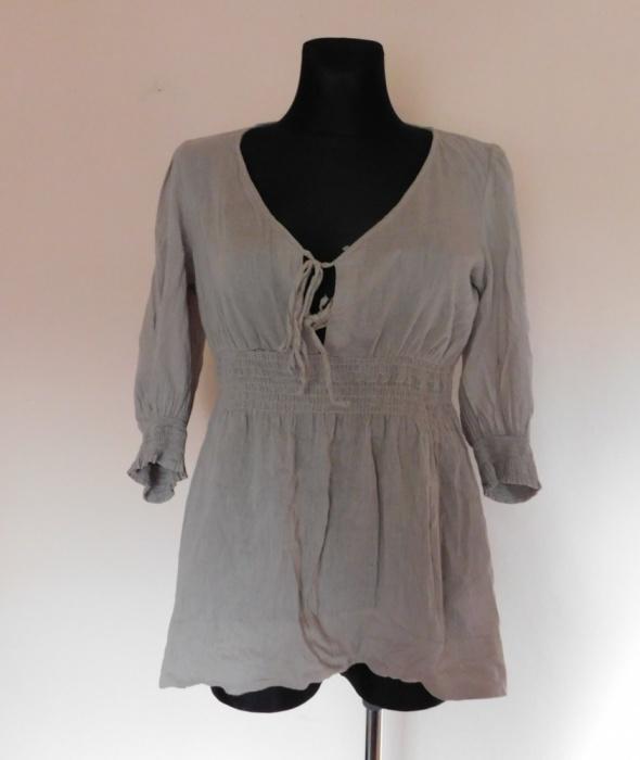 Bluzki Lindex beżowa bluzka 42