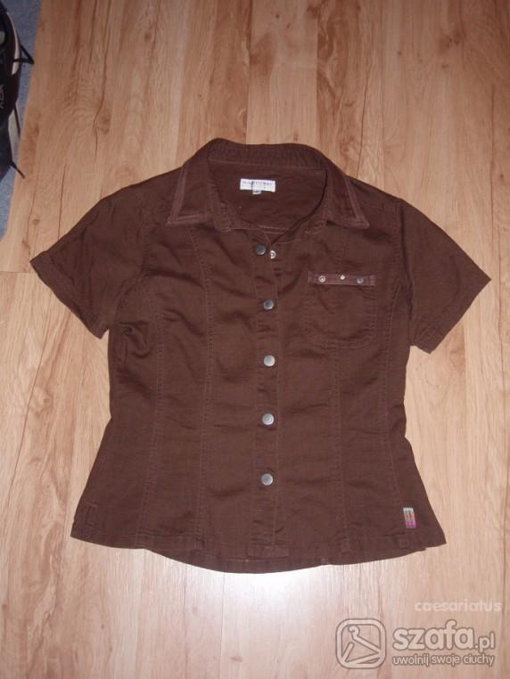 Koszule Koszula z kołnierzykiem S