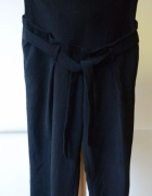Spodnie H&M Mama Czarne S 36 Eleganckie Ciążowe...