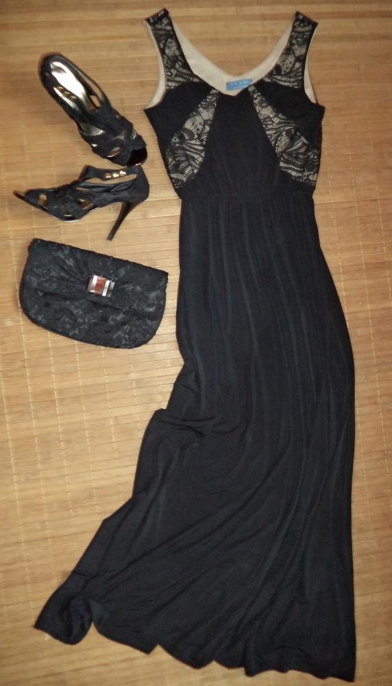 Długa sukienka wieczorowa