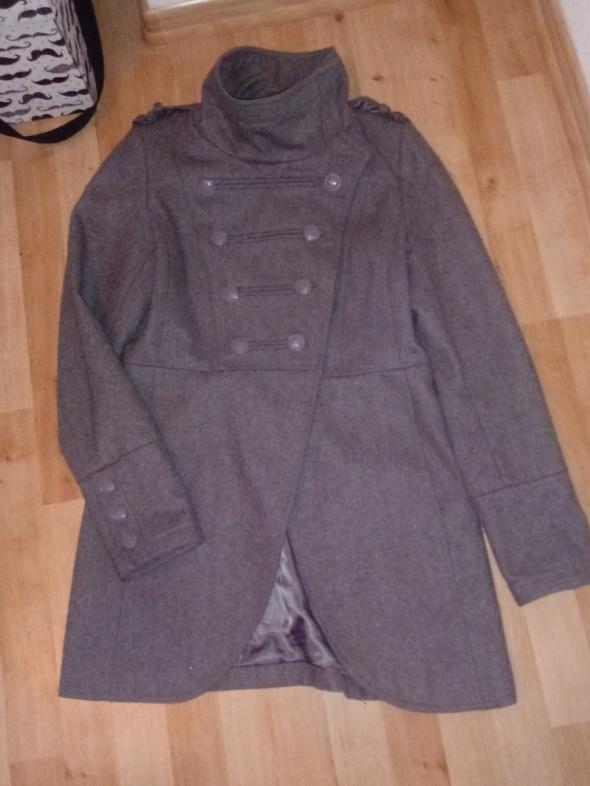 Odzież wierzchnia szary płaszczyk CROPP