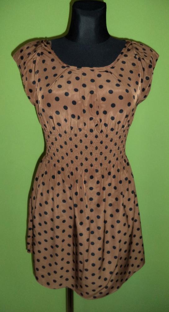 Sukienka groszki kropki...