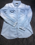 Koszula jeansowa z długim rękawem...