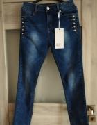jeansy rurki l xl...