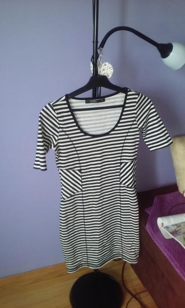 Suknie i sukienki sukienka bawełniana Reserved S darmowa wysylka