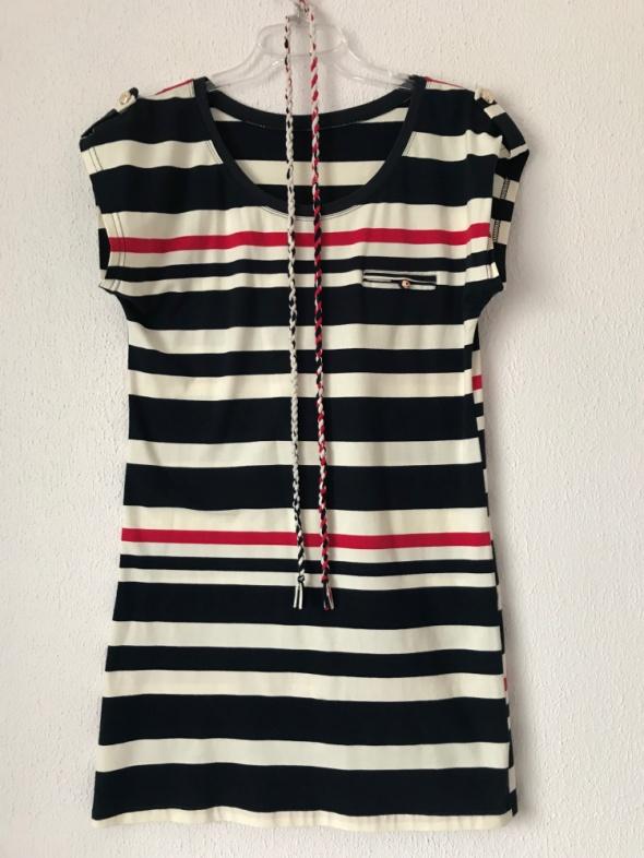 marynarska sukienka tunika 38 40...