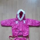 Kombinezon zima jesień dla dziewczynki ok 3 latka dwuczęsciowy
