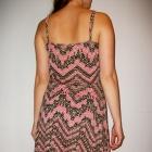 Sukienka geometryczne wzory boho na lato S M