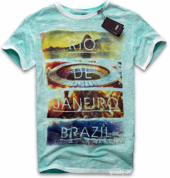 Tshirt koszulki JOHN FRANK na Mundial 2014 Brazyl