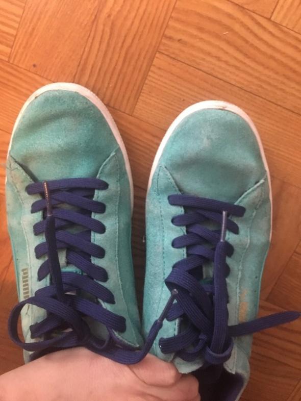 błękitne buty puma 39 w Sportowe Szafa.pl