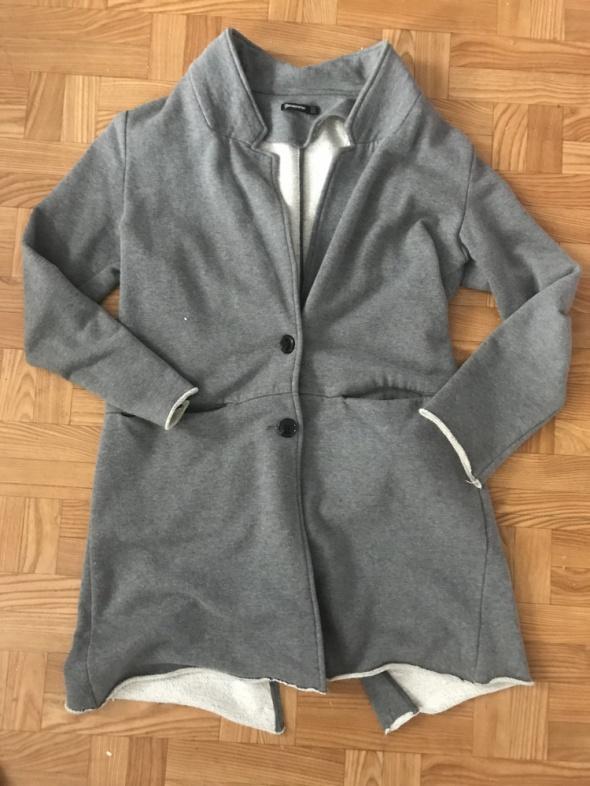 Odzież wierzchnia Dresowy płaszcz stradivarius