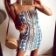 Sukienka Damska wzory azteckie S M