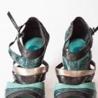 Park Venezia buty na obcasie paski skórka weza 37