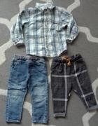 Koszula jeansy spodnie chłopiec...