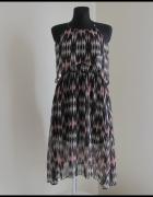 Sukienka H&M letnia na ramiączkach 38 i 40 wzorzysta...